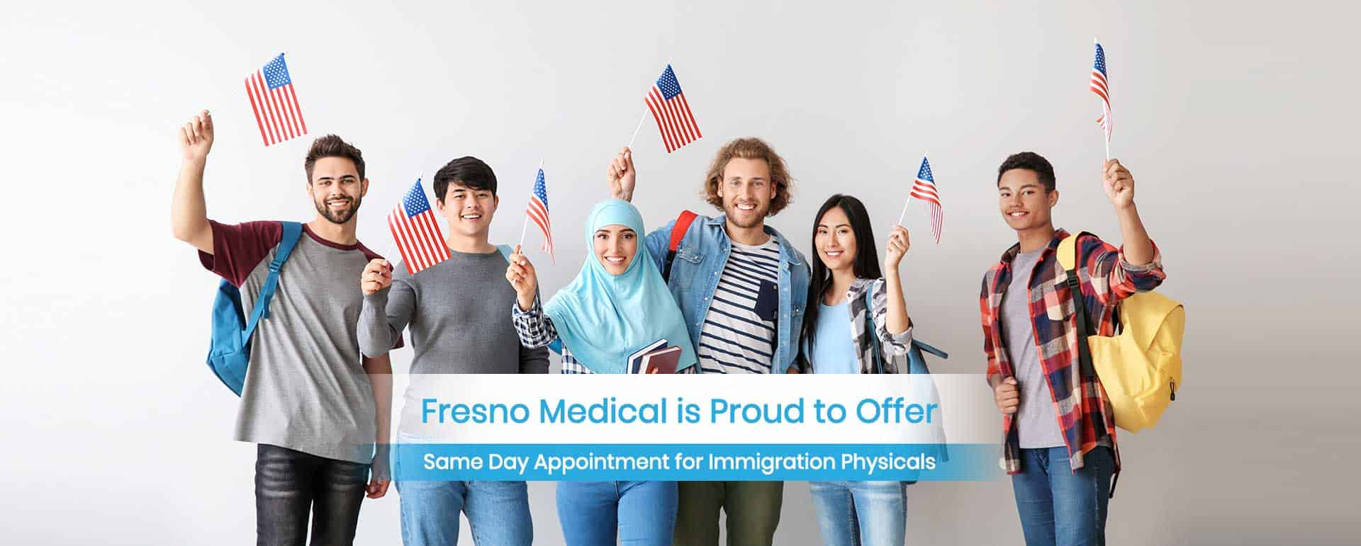 Fresno Medical Center Is Proud to Offer Same Day Appointment for Immigration Physicals.